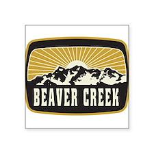 Beaver Creek Sunshine Patch Sticker