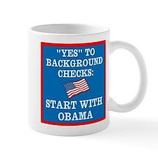 Background Checks Mug