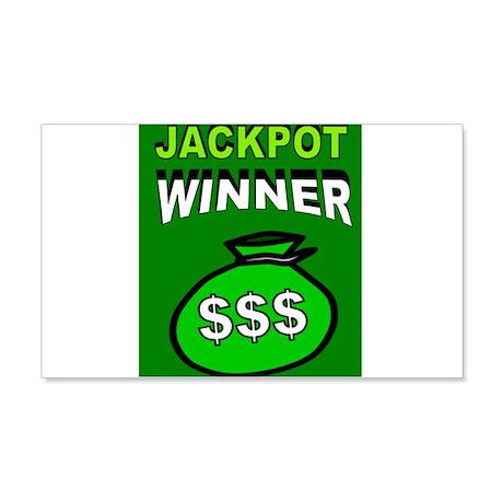 JACKPOT WINNER Wall Decal