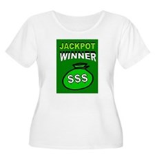 JACKPOT WINNER Plus Size T-Shirt