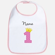 Personalized Princess 1 Bib