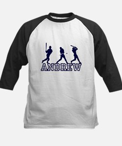 Baseball Andrew Personalized Tee