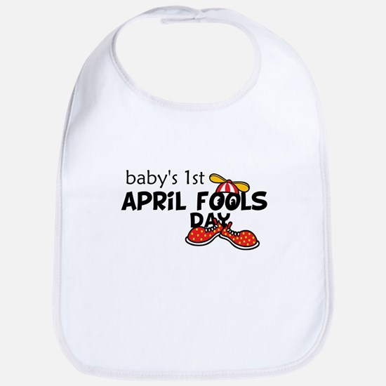 Baby's First April Fools Day Baby Bib