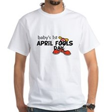 Babys First April Fools Day T-Shirt