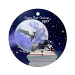 Chapter Book Challenge 2013 Ornament (Round)