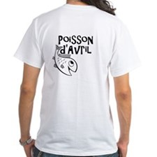 Poisson d'Avril T-shirt for April Fools Day