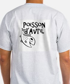 Poisson d'Avril Mens T-shirt for April Fools Day