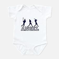 Baseball Angel Personalized Infant Bodysuit