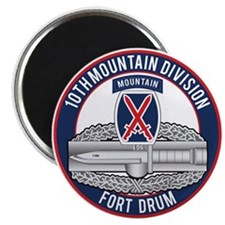10th Mountain CAB Magnet