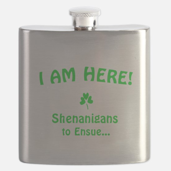 I am here! Shenanigans to Ensue... Flask