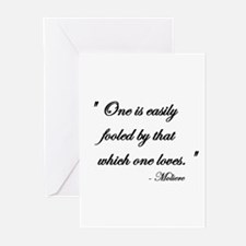 Easily fooled... Greeting Cards (Pk of 10)