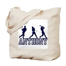 Baseball Anthony Personalized Tote Bag