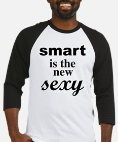 Smart Is The New Sexy Funny Geek Baseball Jersey