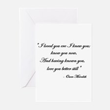 Loved you... Greeting Cards (Pk of 10)