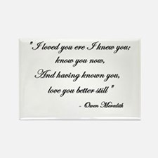 Loved you... Rectangle Magnet