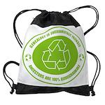 biodedrade_dark.png Drawstring Bag