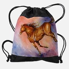 HorseLove2.jpg Drawstring Bag