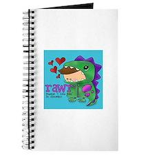 Rawr Blue Journal