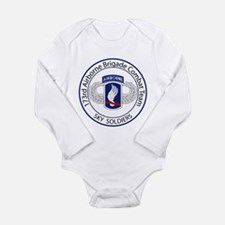 173rd Airborne Sky Soldiers Long Sleeve Infant Bod