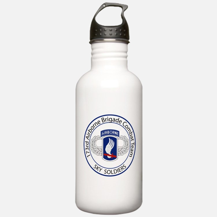 173rd Airborne Sky Soldiers Water Bottle