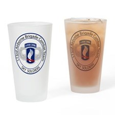 173rd Airborne Sky Soldiers Drinking Glass