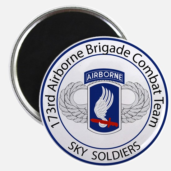 173rd Airborne Sky Soldiers Magnet