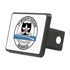 2nd ID CIB Indianhead Hitch Cover