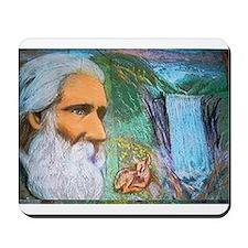 John Muir, Guardian of the Wilderness Mousepad