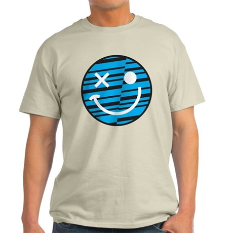 Blue Smiley T-Shirt