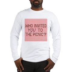 Picnic Ants Long Sleeve T-Shirt