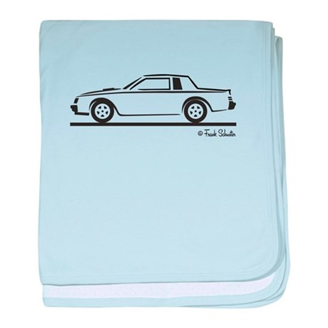 1987 Buick Grand National baby blanket