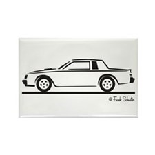 1987 Buick Grand National Rectangle Magnet
