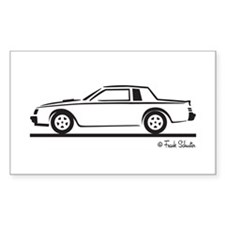 1987 Buick Grand National Decal
