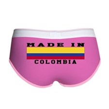 Colombia Made In Women's Boy Brief