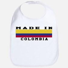 Colombia Made In Bib