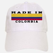 Colombia Made In Baseball Baseball Cap