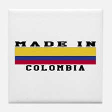 Colombia Made In Tile Coaster