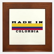 Colombia Made In Framed Tile