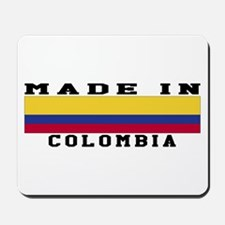 Colombia Made In Mousepad