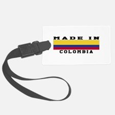Colombia Made In Luggage Tag