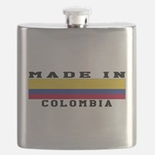 Colombia Made In Flask