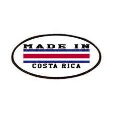 Costa Rica Made In Patches