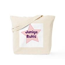 Janiya Rules Tote Bag
