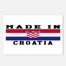 Croatia Made In Postcards (Package of 8)