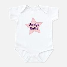 Janiya Rules Infant Bodysuit