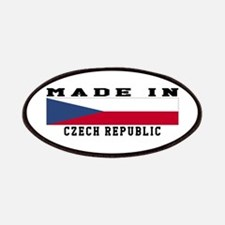 Czech Republic Made In Patches