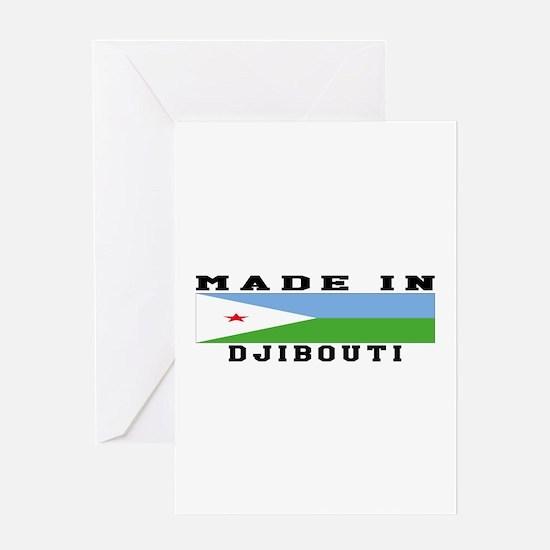 Djibouti Made In Greeting Card