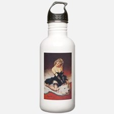 Classic Elvgren 1950s Vintage Pin Up Girl Water Bo