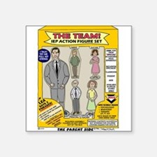 The IEP Team Rectangle Sticker