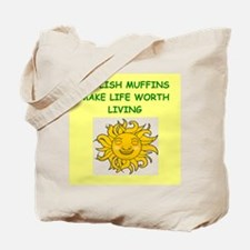 english muffins Tote Bag
